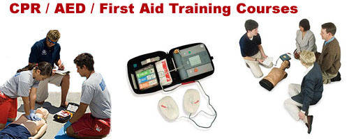 CPR AED and First AED Training