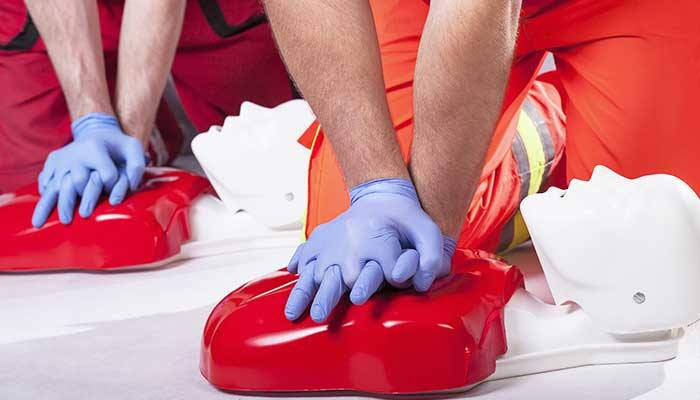 Online AED training