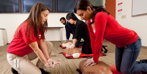 Online AED training